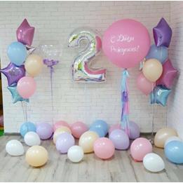 День рождения на 2 годика